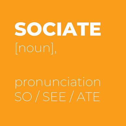 sociate pronunciation